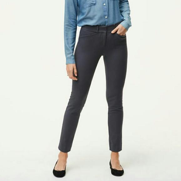 f2ee68fc69a Loft Marisa Fit Grey Ankle Pants